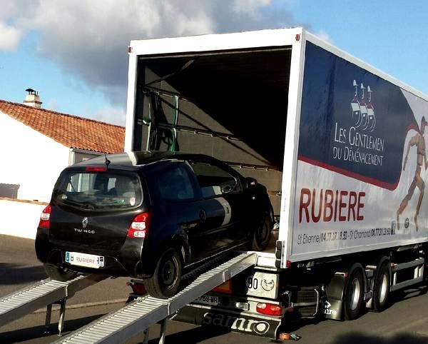 déménagement véhicules